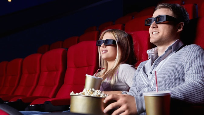Как сделать просмотр фильма как в кинотеатре