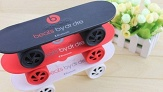 До 3 беспроводных bluetooth-колонок Monster Beats, Monster Beats Pill, Monster Beats Rugby Bluetooth или Skate Board Beats Bluetooth от интернет-магазина City-Shoping