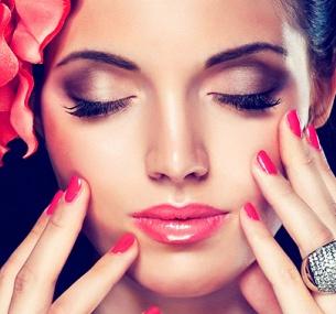 Картинки с макияжем и ногтями