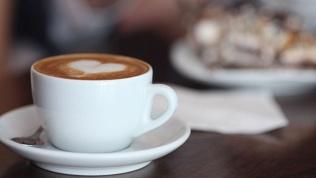 Кофейня UNO. cappuccino