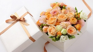 Букет, коробка цветов