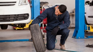 Замена шин, ремонт колеса