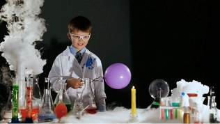 Занятия химией для детей