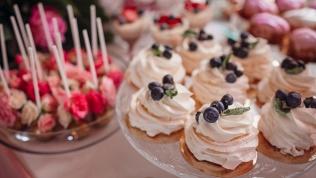 Набор пирожных, торт