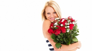 Розы вкоробке или букет