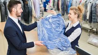 Химчистка одежды, ковров