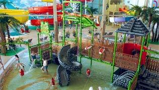 Посещение аквапарка