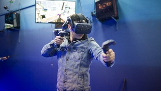 Посещение клуба VR
