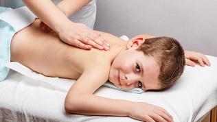 Сеансы детского массажа