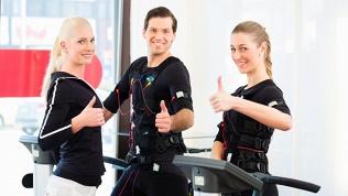 EMS-тренировка стренером