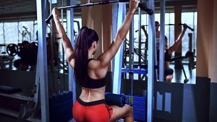 Тренажерный зал, фитнес