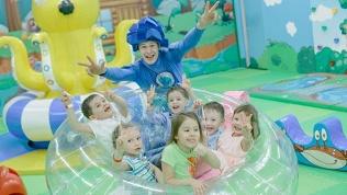 Посещение детского парка
