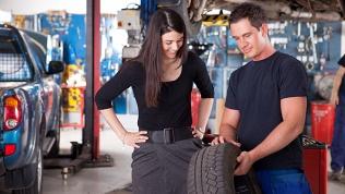 Хранение шин автомобиля