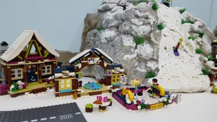 Посещение лего-города