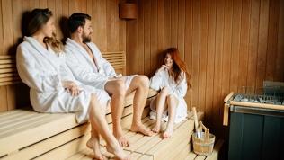 Посещение русской бани