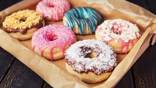 Коробка пончиков