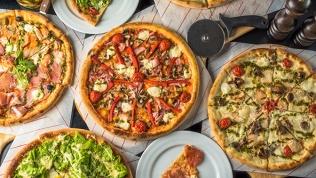 Пицца иягодный морс