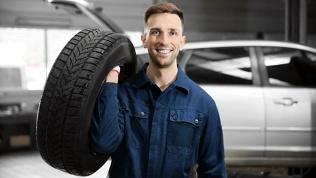 Замена автомобильных шин