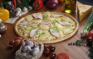 Осетинские пироги, пицца