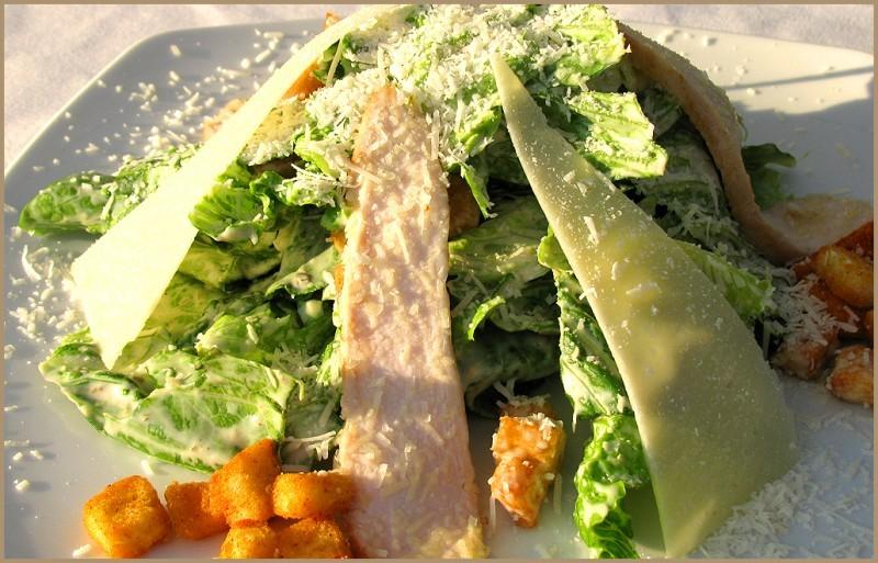 Приготовить салат как в ресторане