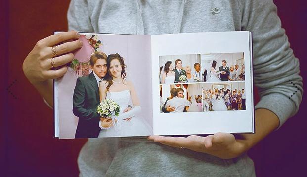 Как сделать свадебные фото для фотокниги