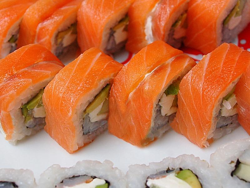 Суши с рыбой и сыром рецепт