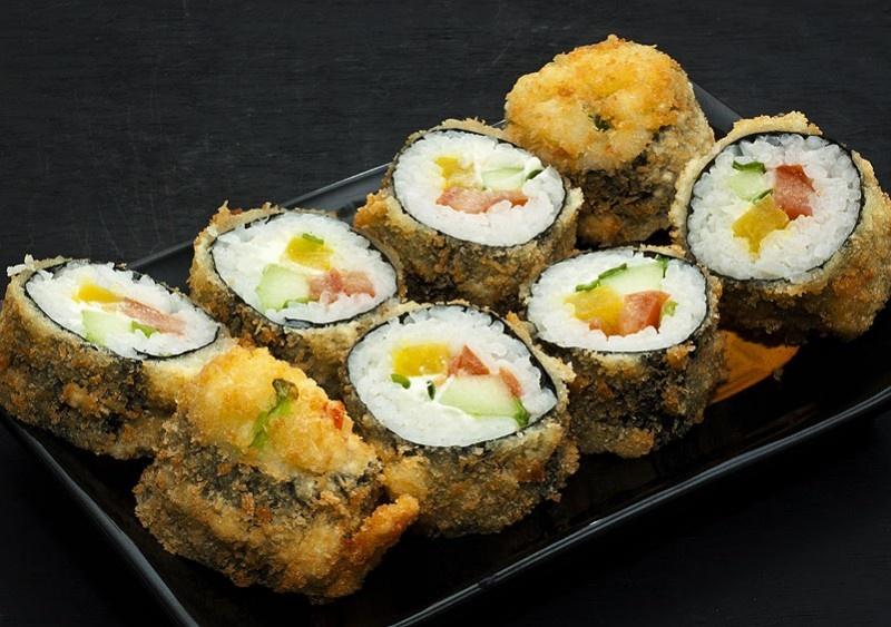 Суши в домашних условиях в темпуре
