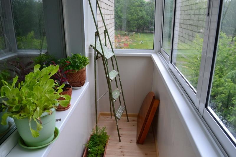 Сендвичные панели для балкона..