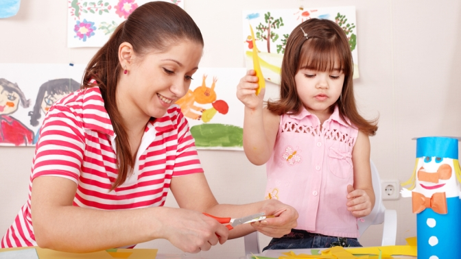 Как сделать маму и ребенка поделки