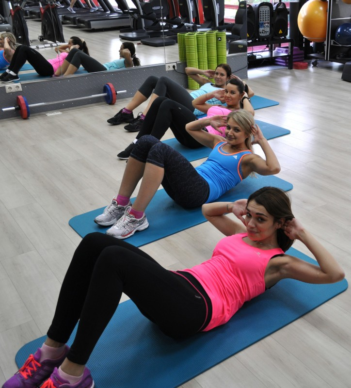 Занимаемся фитнесом