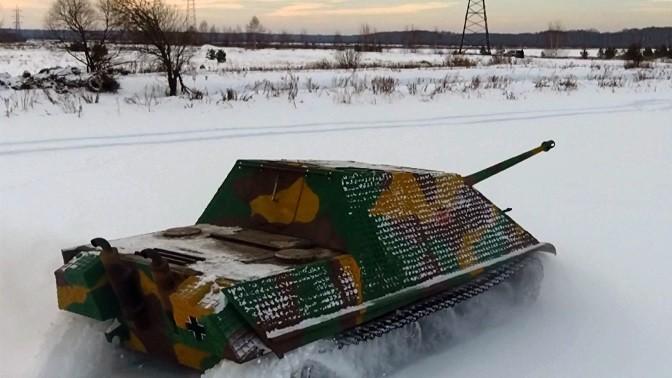 Подарок езда на танке 61