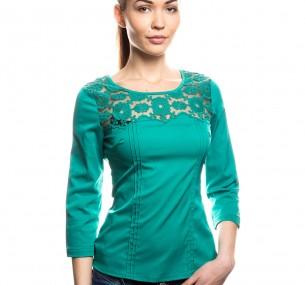 Блузка Зеленого Цвета В Омске