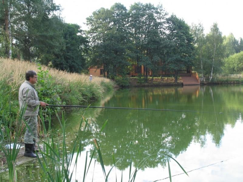 щелково домики рыбалка