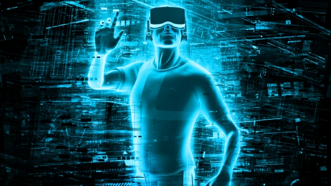 virtuality vs reality The definition of virtual reality comes, naturally, from the definitions for both 'virtual' and 'reality' the definition of 'virtual' is near and reality is.