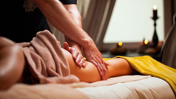 Фото делающий массаж всему телу
