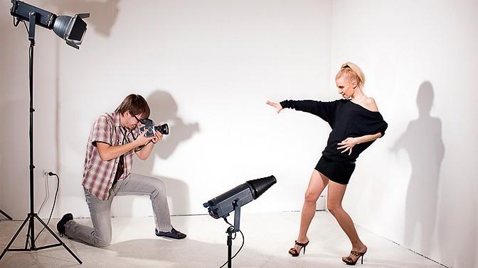 Съемка в студии для начинающих фотографов