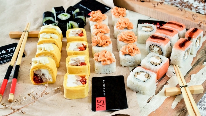 суши омск купоны