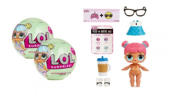 Квакуша. рф - детские игрушки оптом - Куклы ЛОЛ оптом