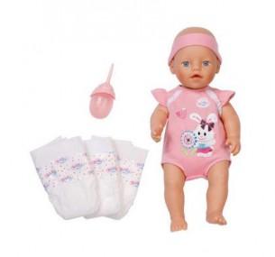 Купить Zapf Creation (Запф Криэйшн) Интерактивная кукла BABY born (Бэби борн) с памперсами и бутылочкой...