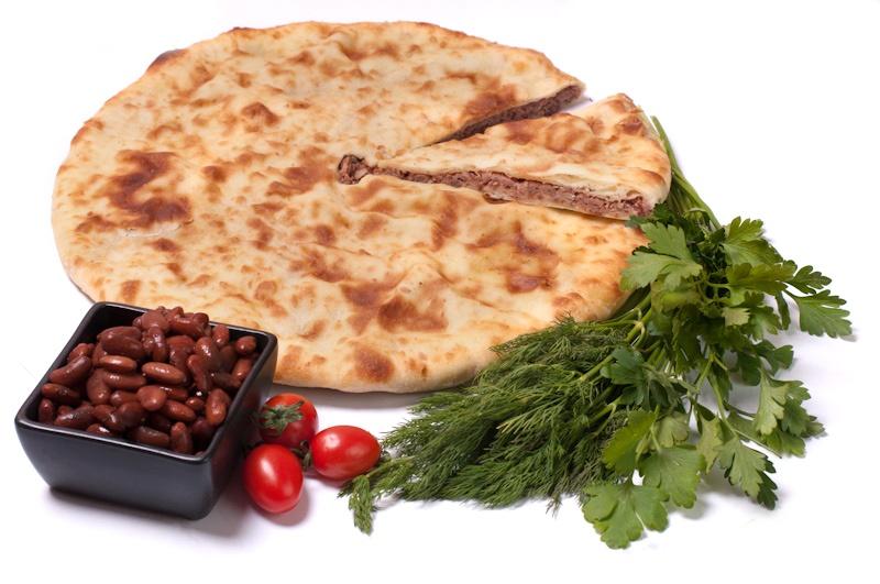Осетинский пирог с фасолью рецепт фото