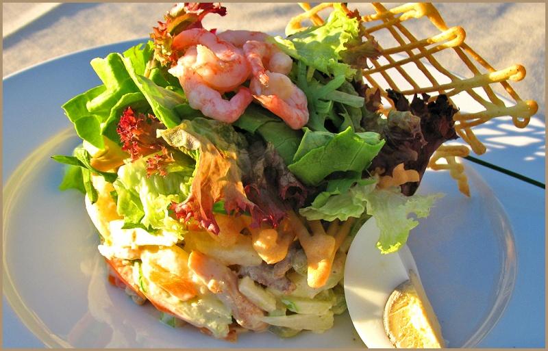 Рецепты салатов ресторанов фото