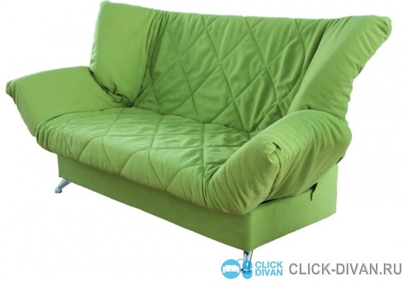 Диван зеленый фото
