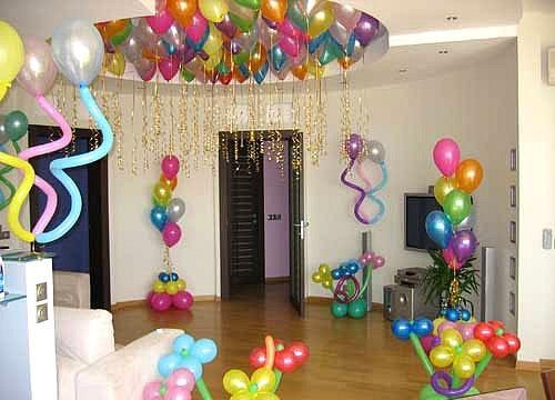Как своими руками украсить комнату к детскому дню рождения