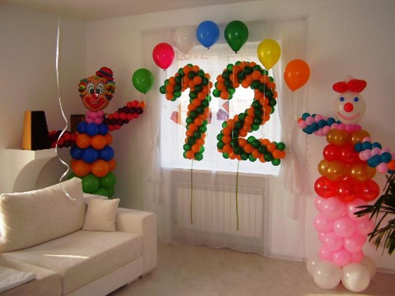 Оформление шарами своими руками детский праздник