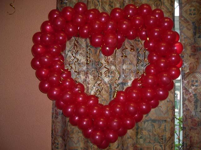 сердце из шаров своими руками пошаговая инструкция фото - фото 8