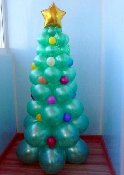 Поделки из шарика на новый год