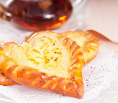 Ватрушка с картофельным пюре рецепт с фото