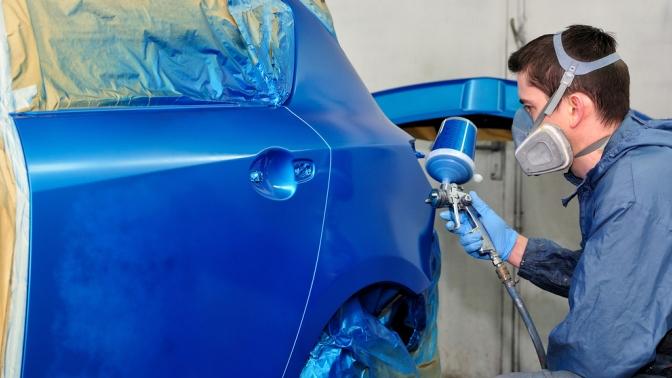 Обучение подготовки и покраски авто своими руками