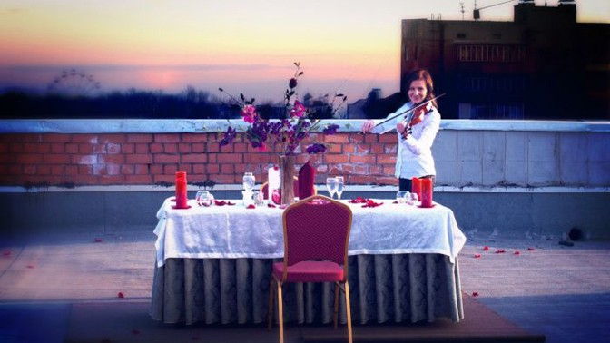 Романтический вечер для двоих | романтический вечер в