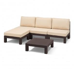 Комплекты садовой мебели Allibert Невада купить в интернет-магазине, цена